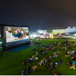 Galileo open air cinema image
