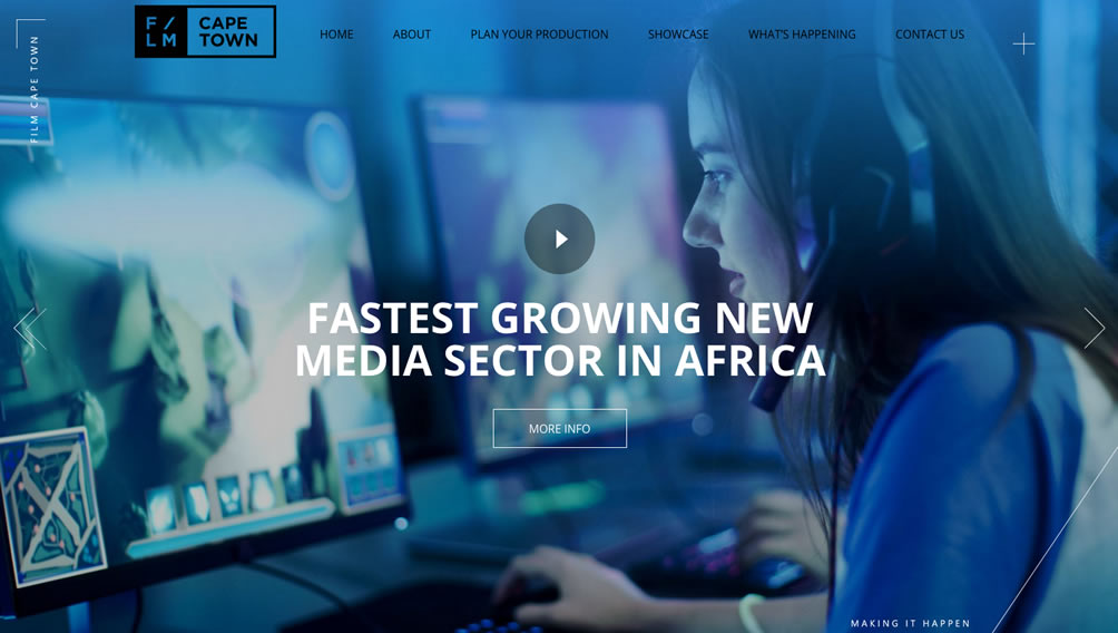 Cape Town - The fastest growing new media sector in Africa