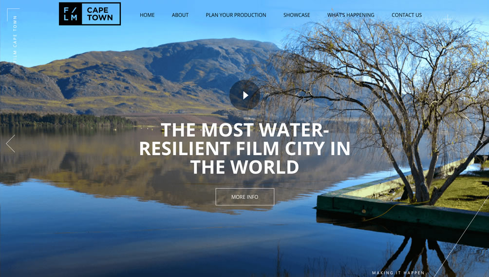 Cape Town - The most water resilient film city in the world