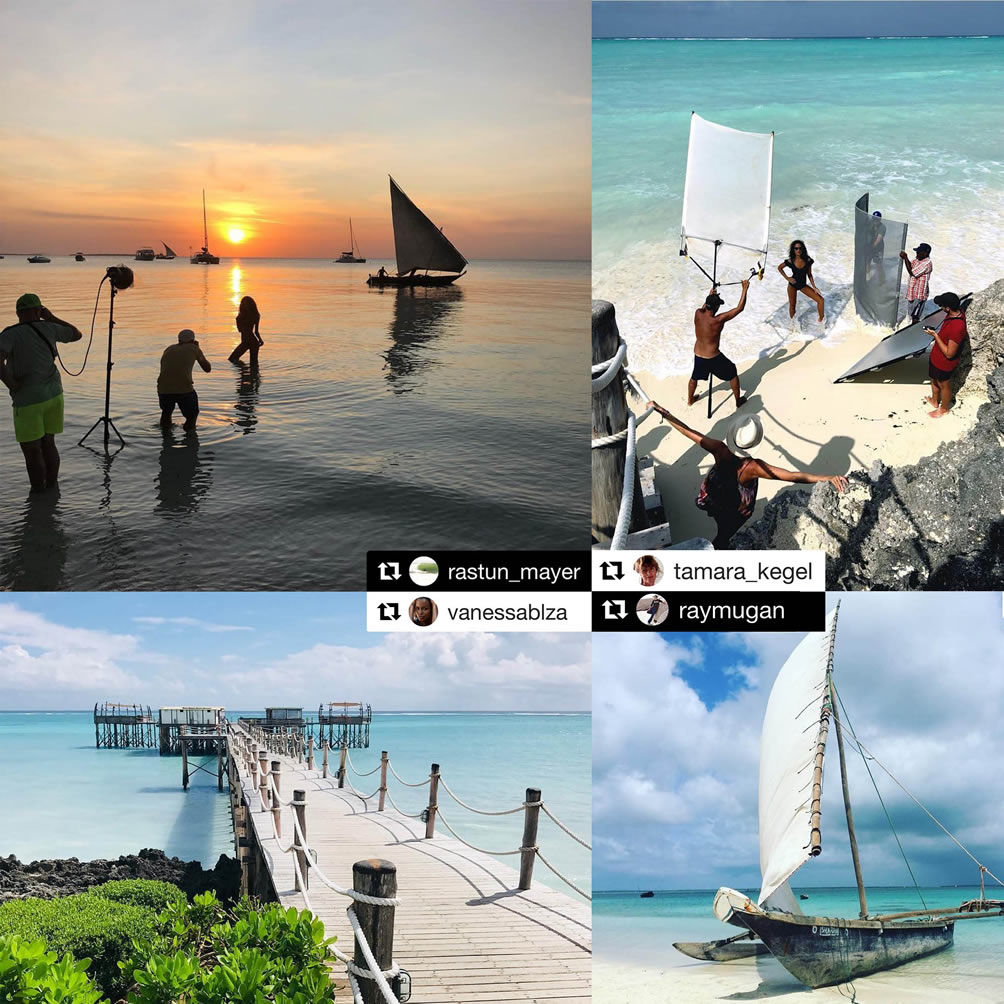 Stills productions in Zanzibar by Prinz Productions, 2018-2019